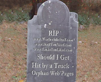 Avoid zombie web pages