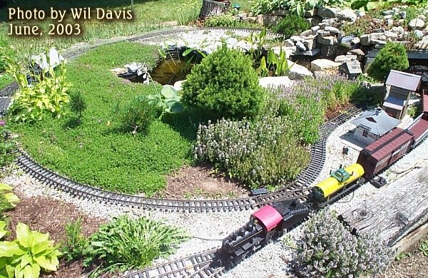Building A Garden Railroad On A Budget