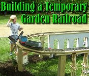 Click to see an article on setting up this temporary railroad.