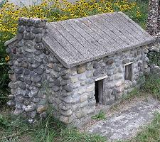 Cast in Concrete Ben Hartmans Stone Houses