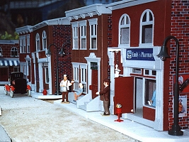 Fischer Price Sesame Street houses were actually realistic adaptations of early 1900 city buildings. Click to see article