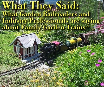 Family Garden Trains; This is a photo that Wil Davis too, of the New Boston and Donnels Creek railroad in June, 2005.  Click for bigger photo.